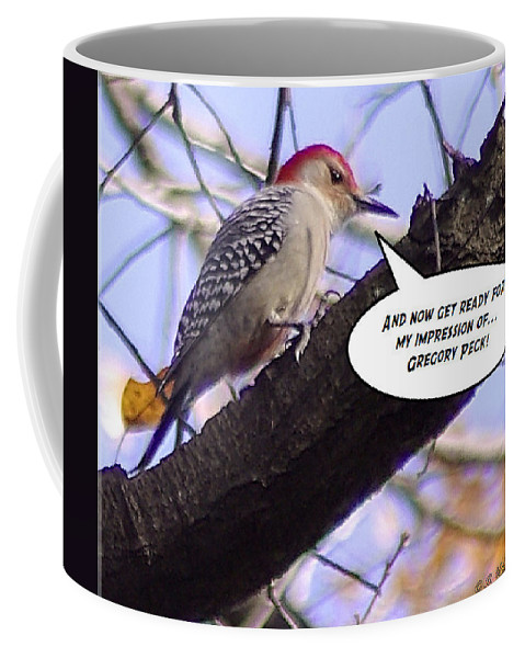 2d Coffee Mug featuring the photograph My Impression by Brian Wallace
