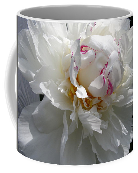 Peony Coffee Mug featuring the photograph My Peony by Mary Ellen Mueller Legault