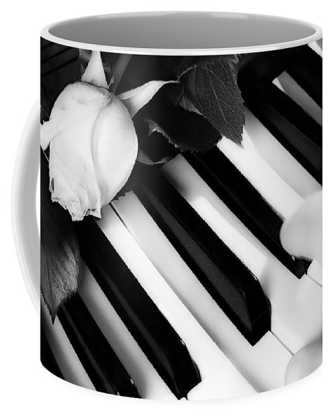 Piano Coffee Mug featuring the photograph My Piano by James BO Insogna