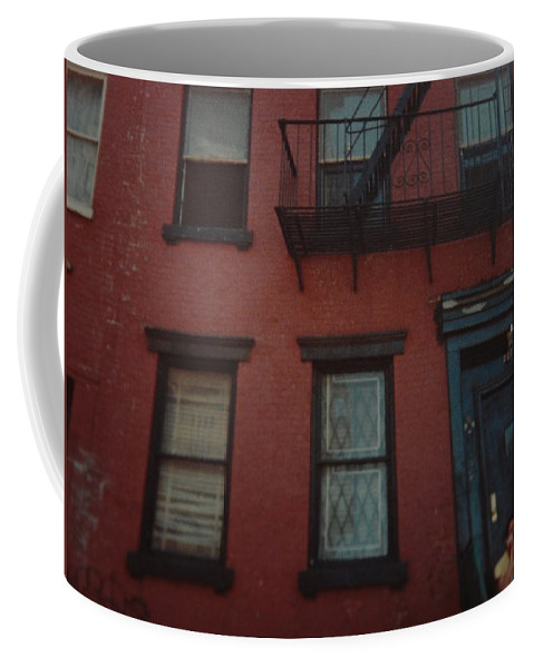 Lower East Side Coffee Mug featuring the photograph My Pops First Home In The United States by Rob Hans