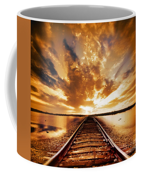 Water Coffee Mug featuring the photograph My Way by Jacky Gerritsen