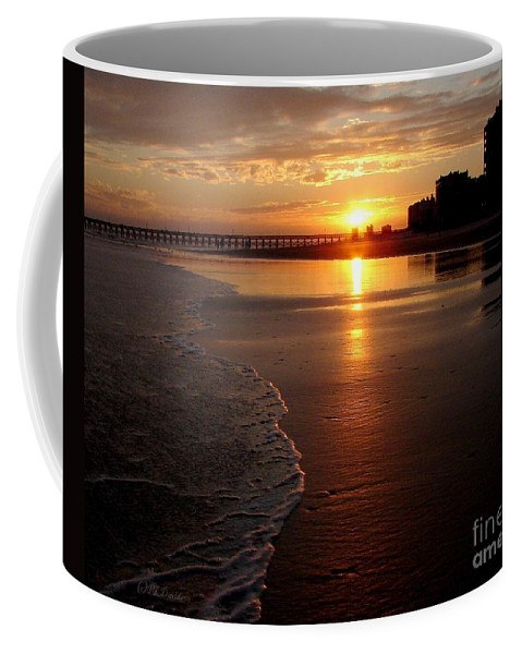 Sunset Coffee Mug featuring the photograph Myrtle Beach Sunset by Patricia L Davidson