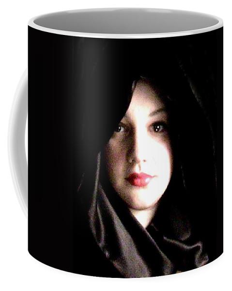 Self Photo Coffee Mug featuring the photograph Myself by Scarlett Royal
