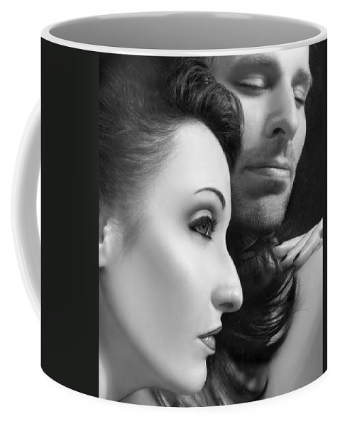 Affection Coffee Mug featuring the photograph Mysterious Love by Jaeda DeWalt