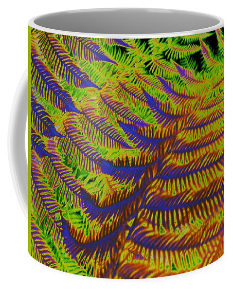 Fern Coffee Mug featuring the photograph Mystic Fern by Tim Allen