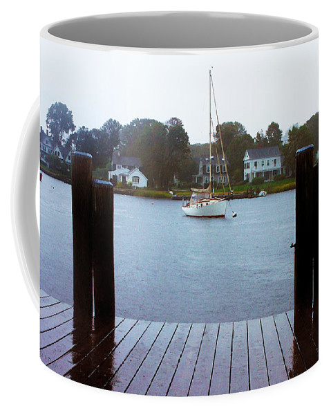 Mystic Seaport Coffee Mug featuring the photograph Mystic Seaport #3 by Susan Vineyard