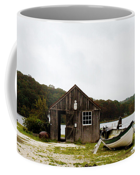 Mystic Seaport Coffee Mug featuring the photograph Mystic Seaport #54 by Susan Vineyard