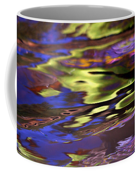 Water Coffee Mug featuring the photograph Mystic Topaz by Donna Blackhall