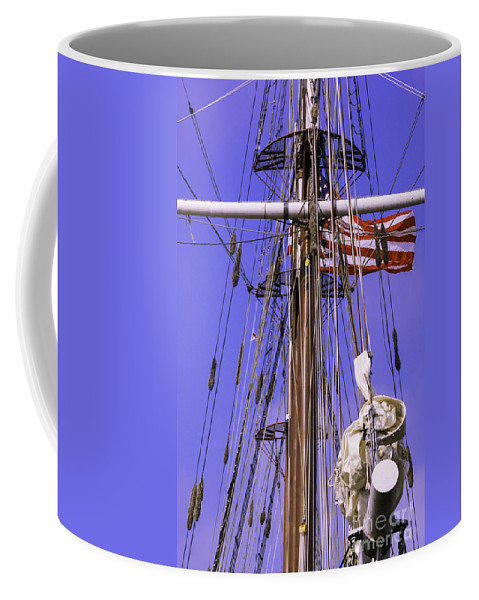 Atlantic Coffee Mug featuring the photograph Mystic's Masts by Joe Geraci