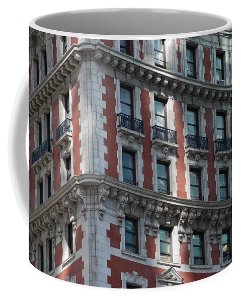 New York City Coffee Mug featuring the photograph N Y C Architecture by Rob Hans