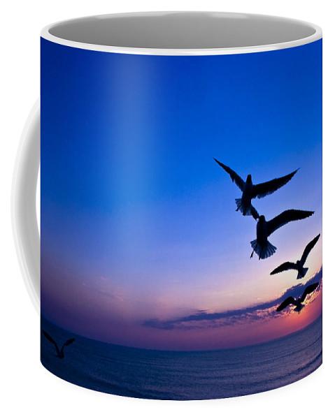 Ocean Coffee Mug featuring the photograph Nags Head Sunrise by Ches Black