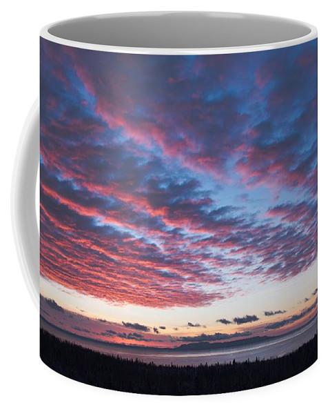 Sunrise Coffee Mug featuring the photograph Nanabijou Sunrise by Tim Beebe