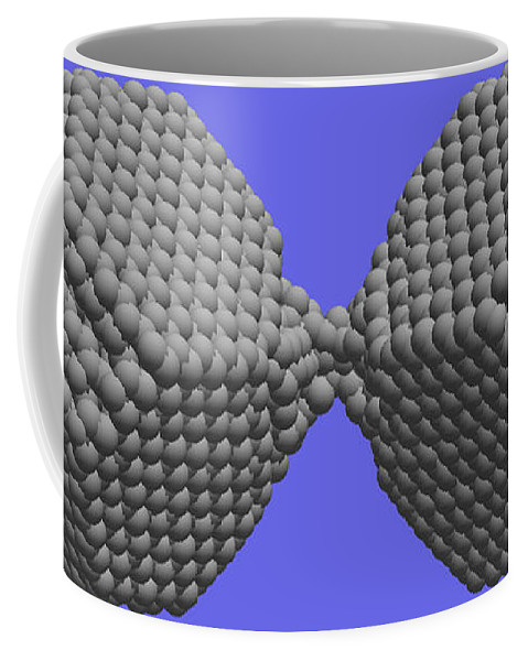 Science Coffee Mug featuring the photograph Nanoscale Ductility, 1 Of 2 by NIST/Science Source