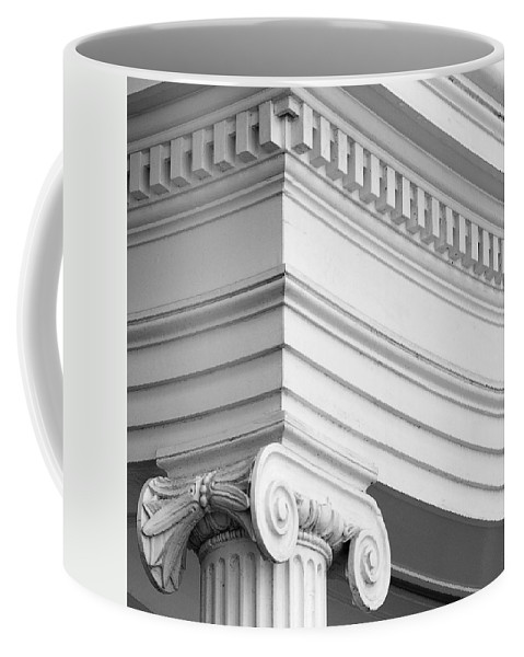 Nantucket Coffee Mug featuring the photograph Nantucket Architecture by Charles Harden