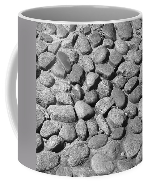 Nantucket Coffee Mug featuring the photograph Nantucket Cobblestones by Charles Harden