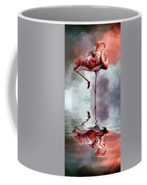 Neck Coffee Mug featuring the photograph Nap Time by Cyndy Doty