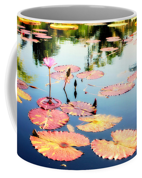 Naples Coffee Mug featuring the photograph Naples Botanicals by Jane Merrit