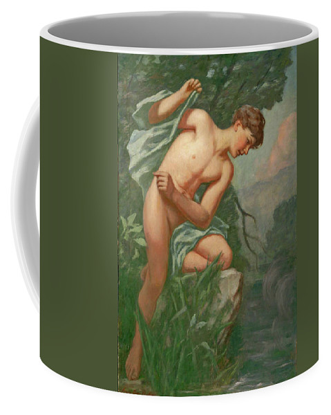 Henry Oliver Walker Coffee Mug featuring the painting Narcissus by Henry Oliver Walker