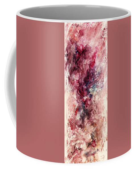 Floral Coffee Mug featuring the painting Narcissus by Rachel Christine Nowicki