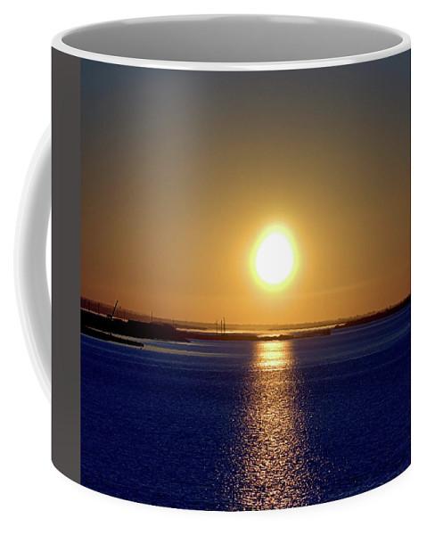 Narrow Bay Coffee Mug featuring the photograph Narrow Bay V by Newwwman