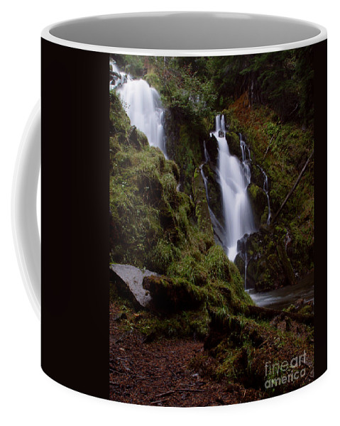 Waterfall Coffee Mug featuring the photograph National Creek Falls 04 by Peter Piatt
