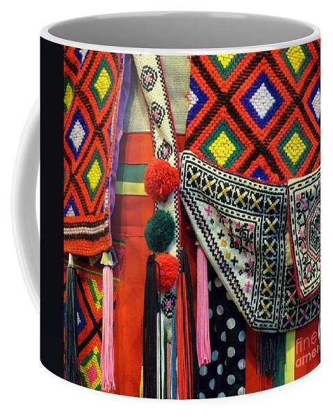 Native Coffee Mug featuring the photograph Native Costume Detail by Yali Shi