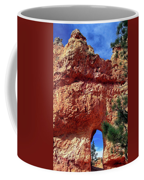 Natural Arch Coffee Mug featuring the photograph Natural Arch by Sally Weigand