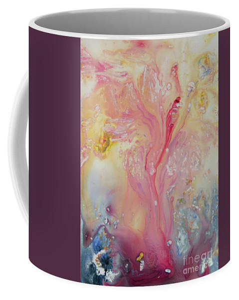 Beauty Coffee Mug featuring the painting Natural Beauty by Caren Keyser