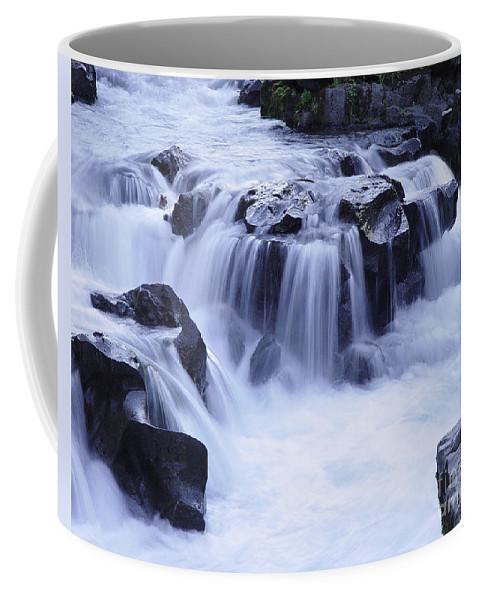 Waterfall Coffee Mug featuring the photograph Natural Bridges Falls 01 by Peter Piatt