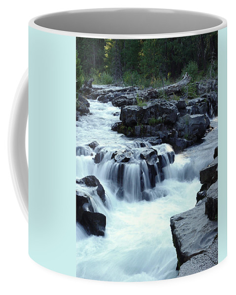 Waterfall Coffee Mug featuring the photograph Natural Bridges Falls 03 by Peter Piatt