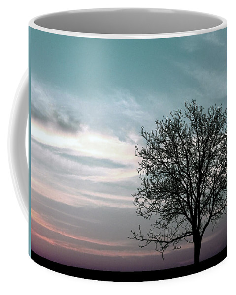Nature Coffee Mug featuring the photograph Nature - Early Sunrise by Munir Alawi