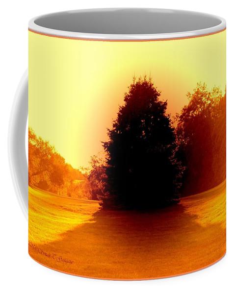Digital Art Coffee Mug featuring the digital art Nature 2 by Sonali Gangane