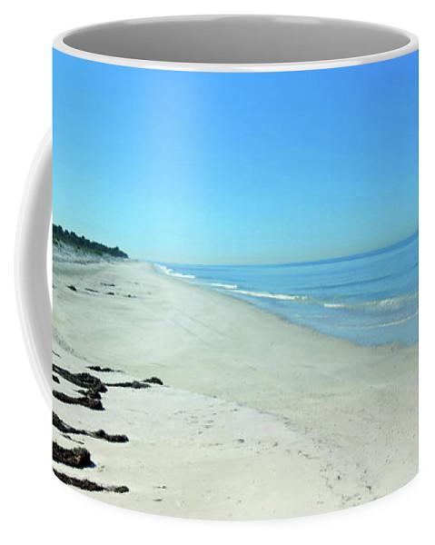 Beach Coffee Mug featuring the photograph Nature Coast by A H Kuusela