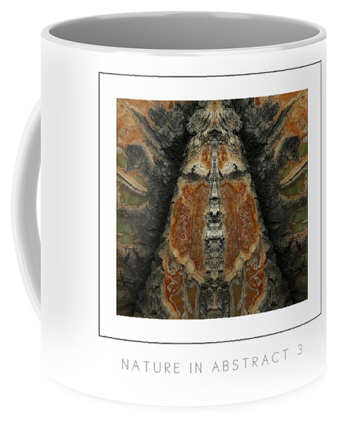 Nature Coffee Mug featuring the photograph Nature In Abstract 3 Poster by Mike Nellums