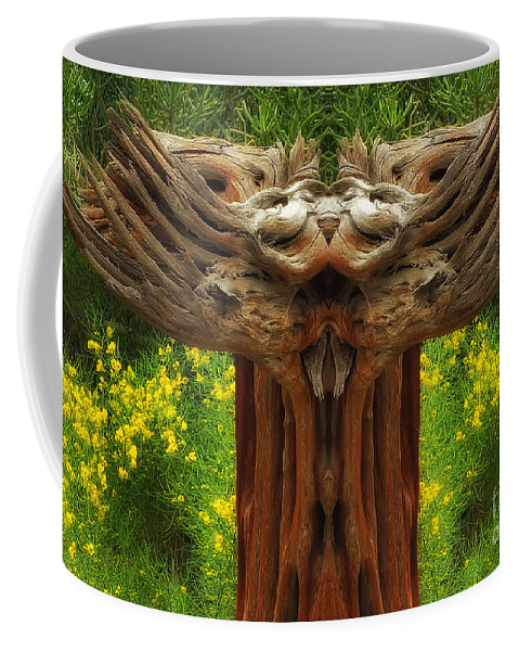 Coffee Mug featuring the photograph Nature In Abstract 4 by Mike Nellums