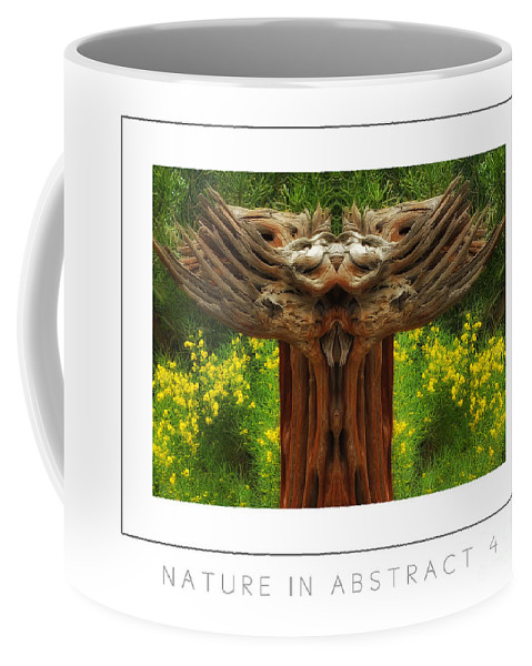 Coffee Mug featuring the photograph Nature In Abstract 4 Poster by Mike Nellums