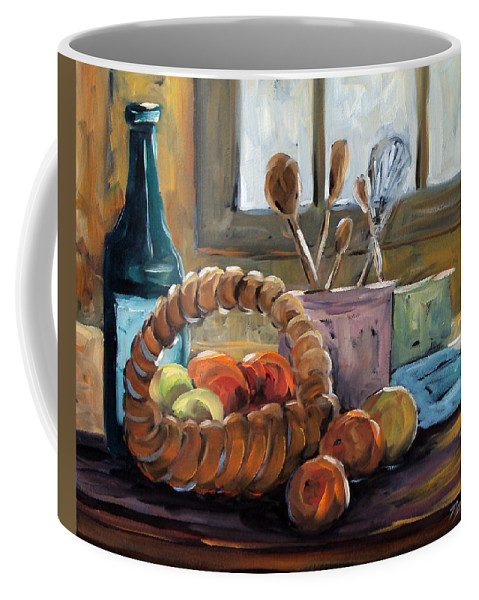 Art Coffee Mug featuring the painting Nature Morte by Richard T Pranke