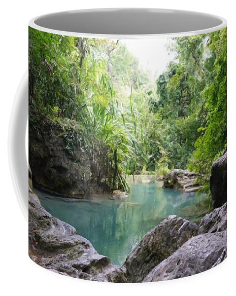 Trees Coffee Mug featuring the digital art Nature Neto by Erez Anshel