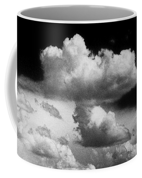 Clouds Coffee Mug featuring the photograph Nature's Mushroom Cloud by Jim Smith