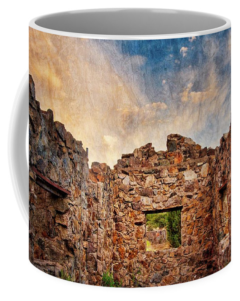 Southwest Coffee Mug featuring the photograph Nature's Roof by Zayne Diamond Photographic