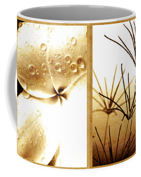 Floral Coffee Mug featuring the photograph Nature's Window by Holly Kempe