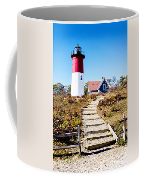 Cape Cod Coffee Mug featuring the photograph Nauset by Greg Fortier