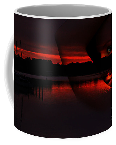 Clay Coffee Mug featuring the photograph Nautical Goddess by Clayton Bruster