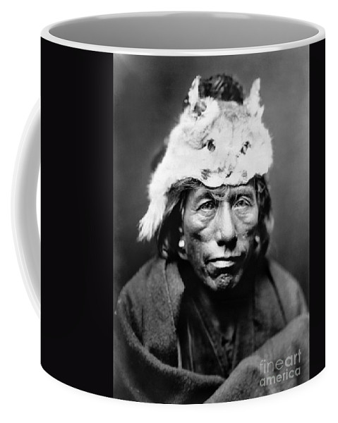 Coffee Mug featuring the painting Navajo Man, C1905 by Granger