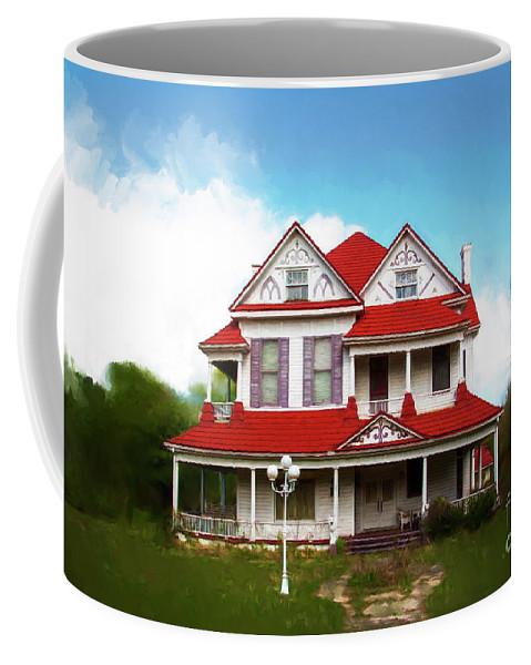 Navasota Coffee Mug featuring the photograph Navasota 3 by Elena Nosyreva