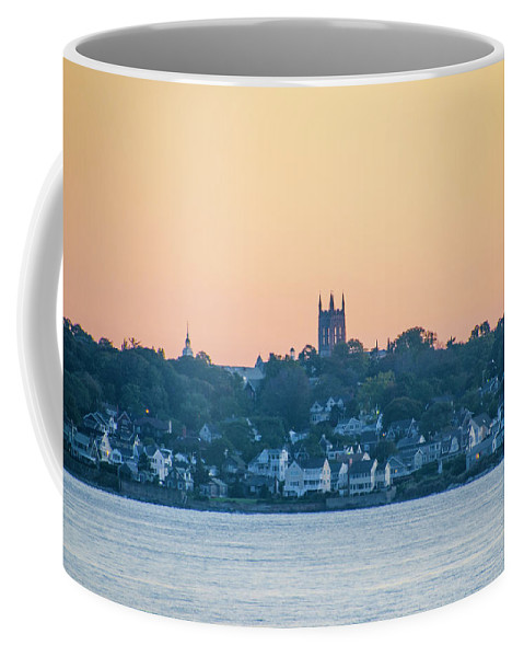 Near Coffee Mug featuring the photograph Near Easton Point - New Port Rhode Island by Bill Cannon