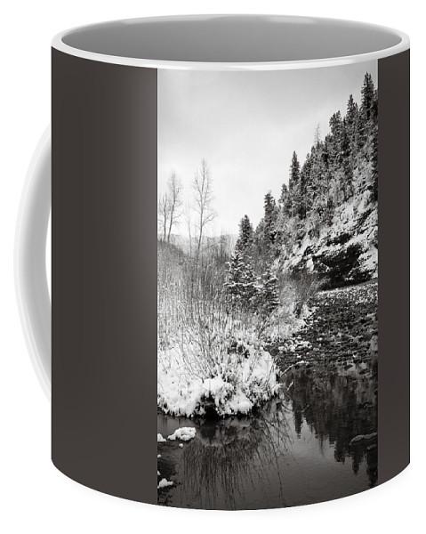 Winter Coffee Mug featuring the photograph Near Telluride Colorado by Marilyn Hunt
