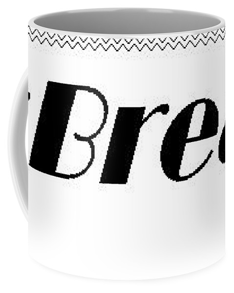 Official Logo Coffee Mug featuring the mixed media Neckbreakerz Official by Nyric Gosley