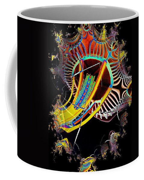 Seattle Coffee Mug featuring the photograph Needle In Fractal 2 by Tim Allen