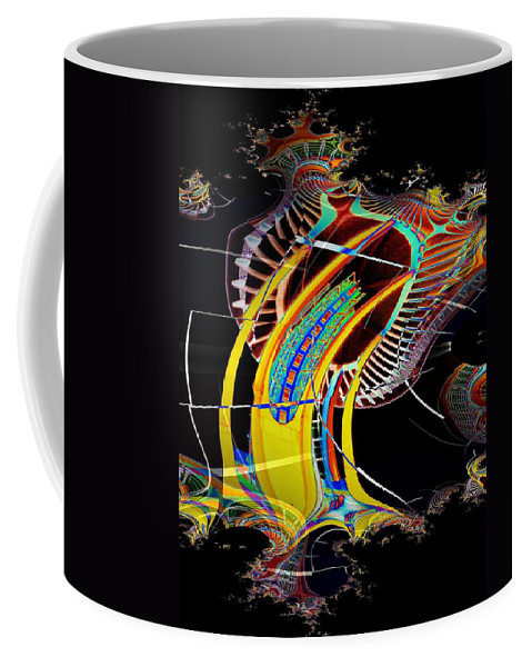 Seattle Coffee Mug featuring the photograph Needle In Fractal 4 by Tim Allen
